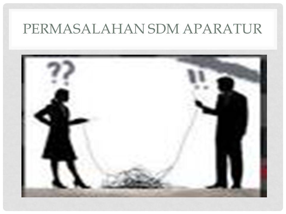 PERMASALAHAN SDM APARATUR