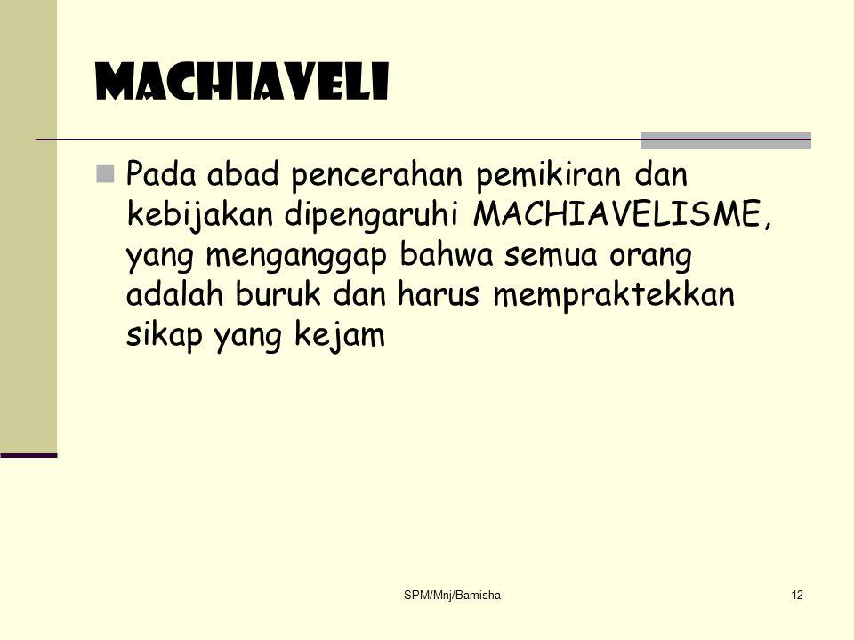 MACHIAVELI