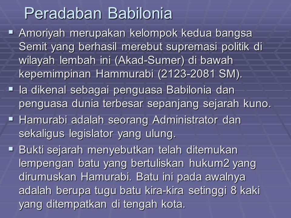 Peradaban Babilonia