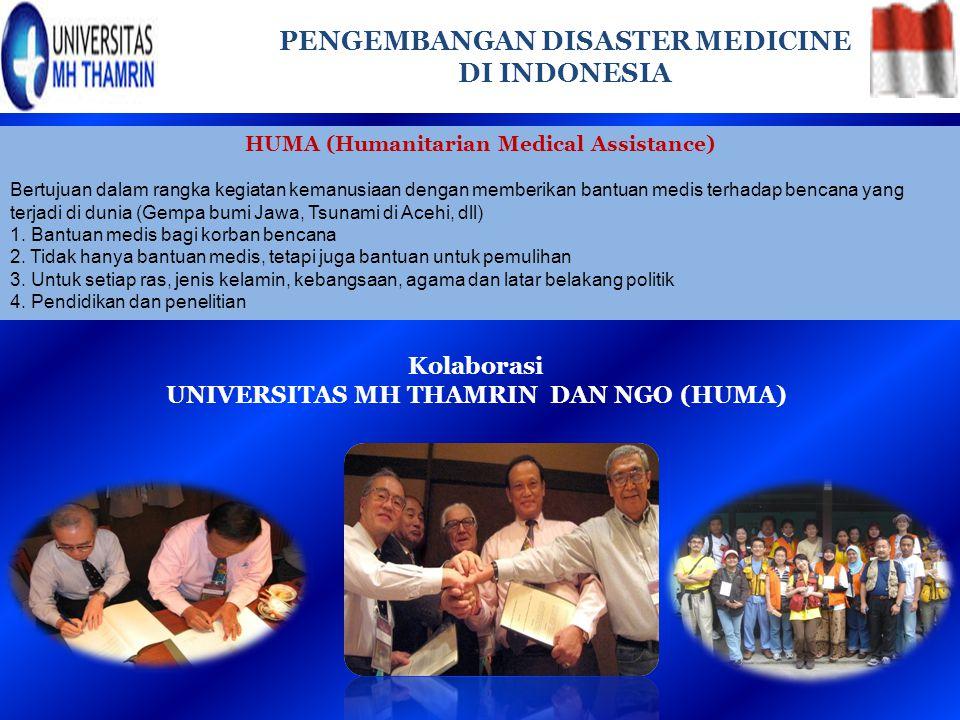 PENGEMBANGAN DISASTER MEDICINE