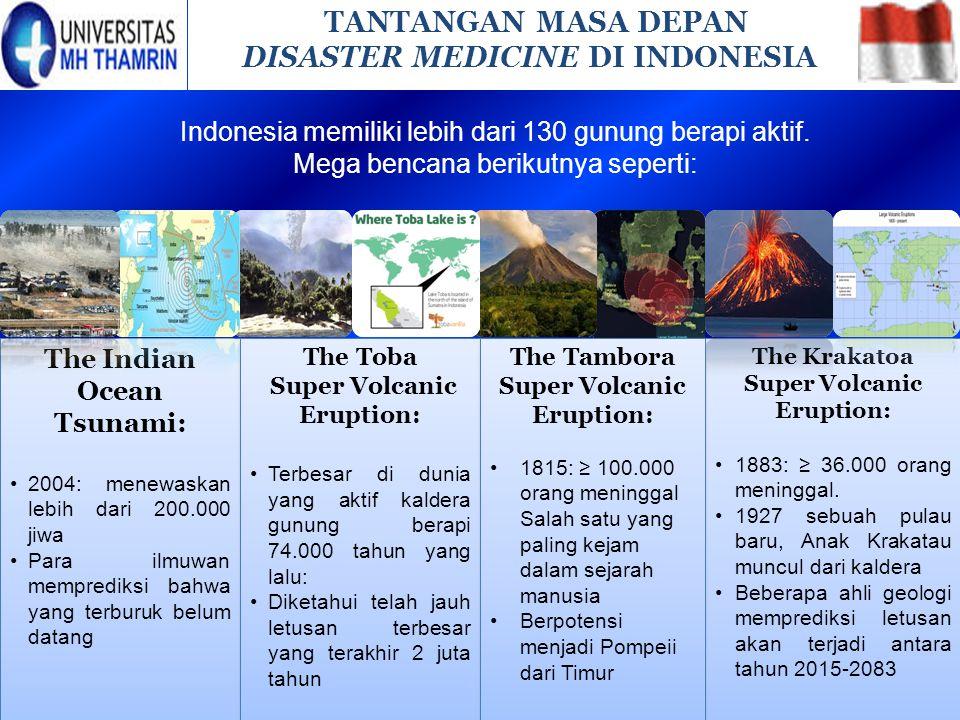 DISASTER MEDICINE DI INDONESIA