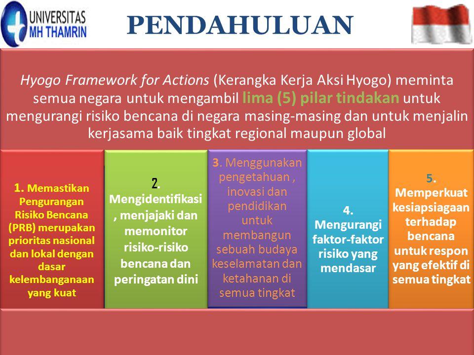 4. Mengurangi faktor-faktor risiko yang mendasar