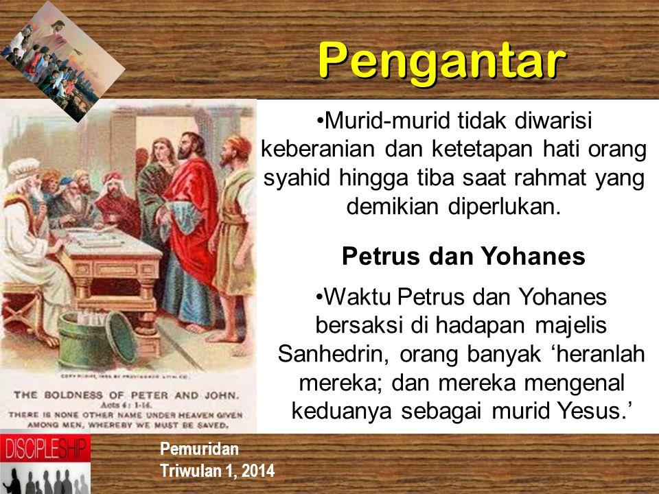 Pengantar Petrus dan Yohanes