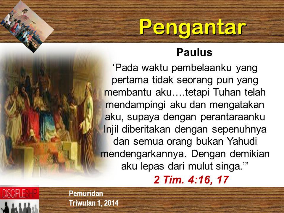 Pengantar Paulus.