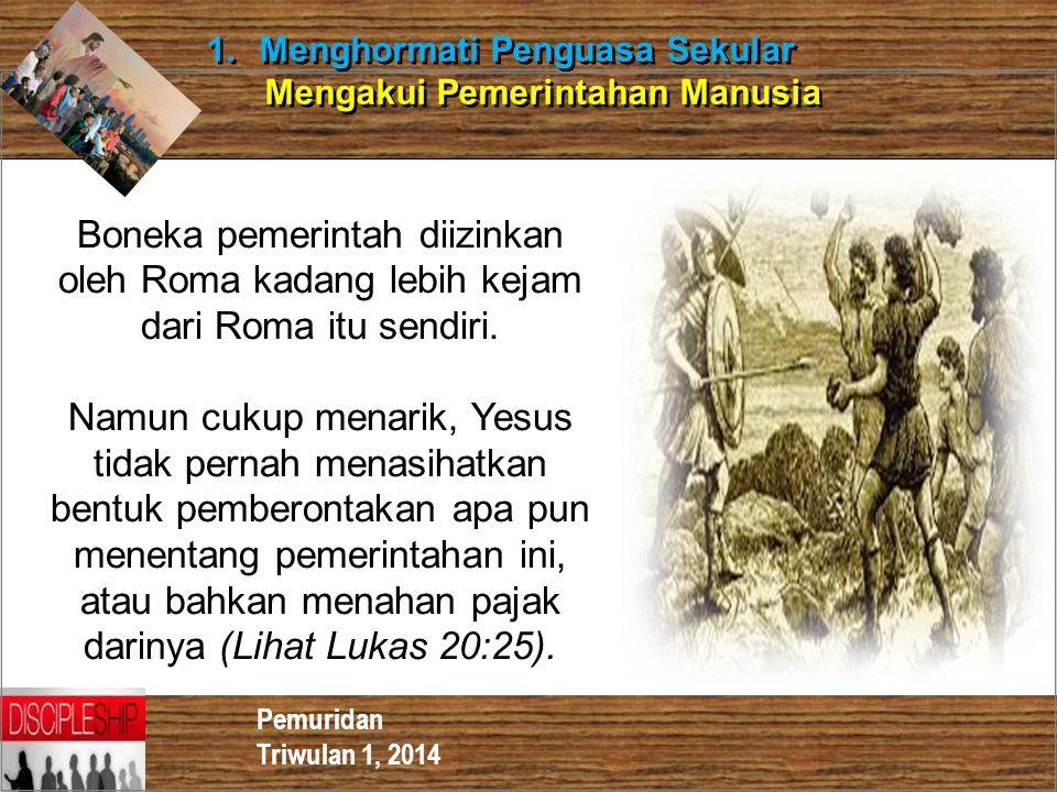 Menghormati Penguasa Sekular