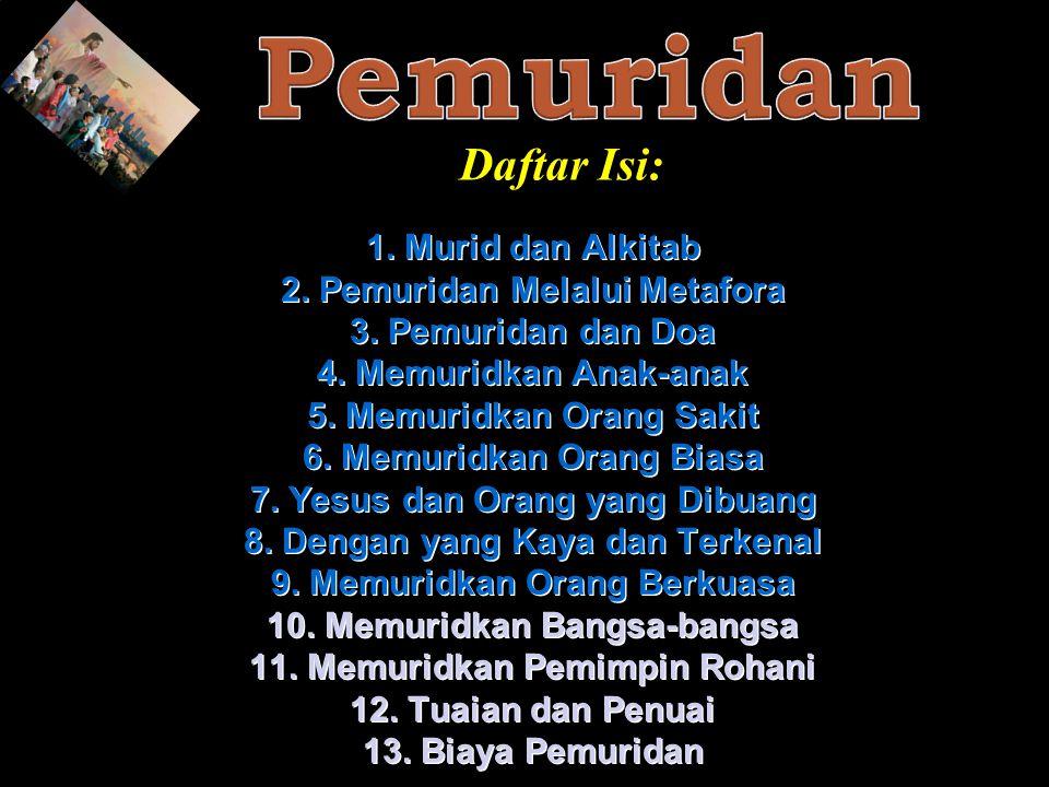 Pemuridan Daftar Isi: