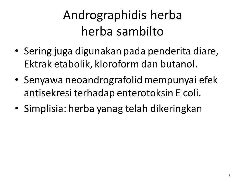 Andrographidis herba herba sambilto