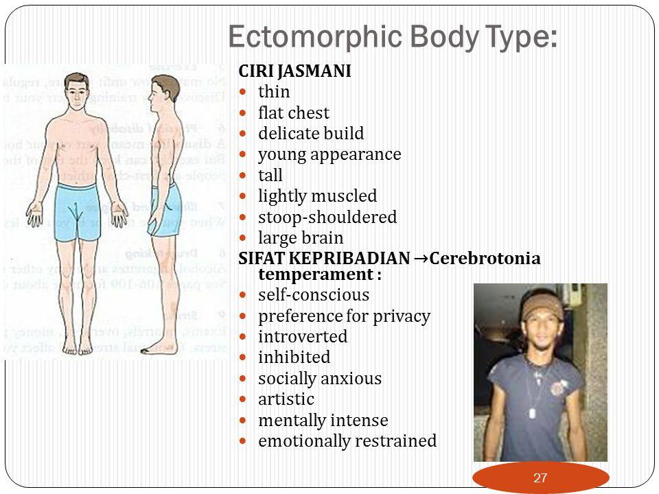 Ectomorphic Body Type: