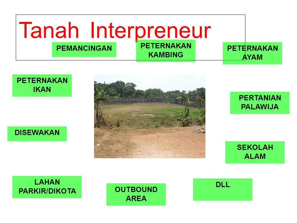 Tanah Interpreneur PETERNAKAN KAMBING PEMANCINGAN PETERNAKAN AYAM