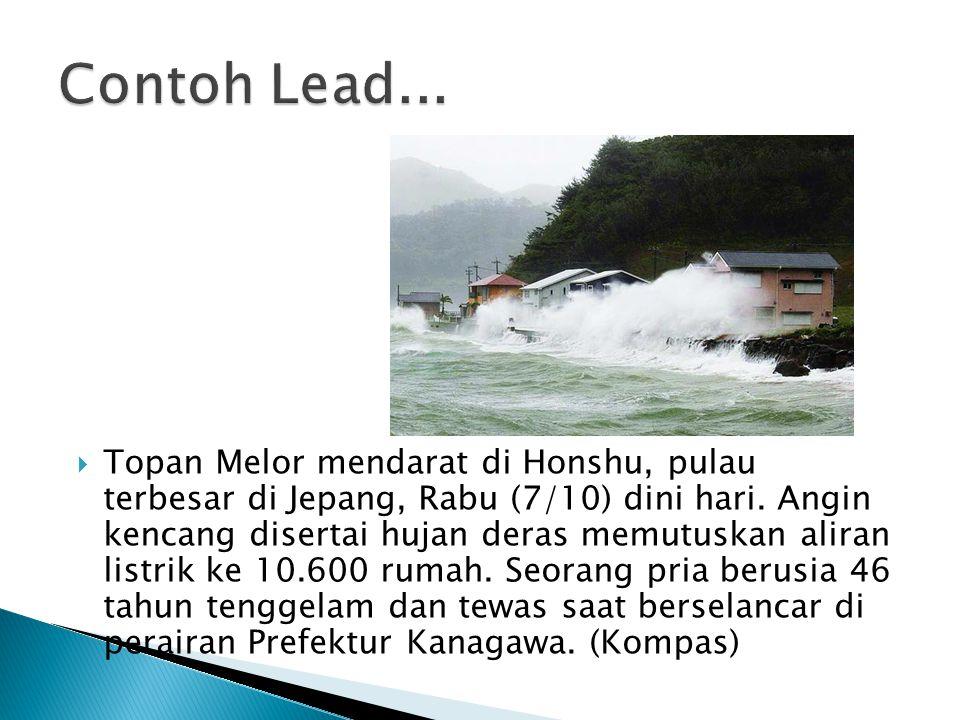 Contoh Lead...