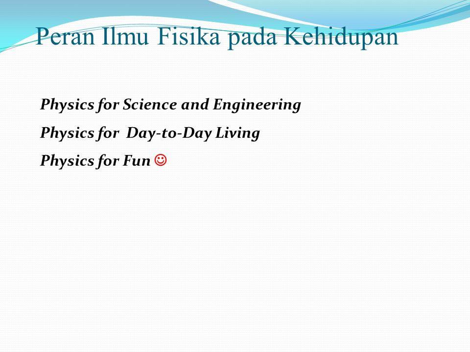 Peran Ilmu Fisika pada Kehidupan