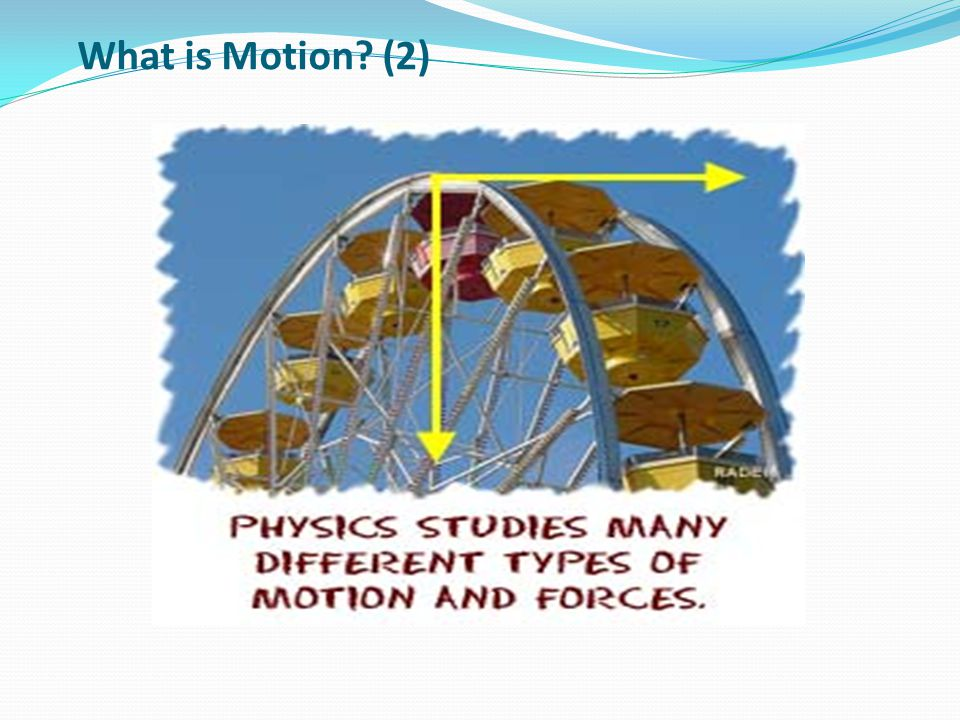 What is Motion (2)