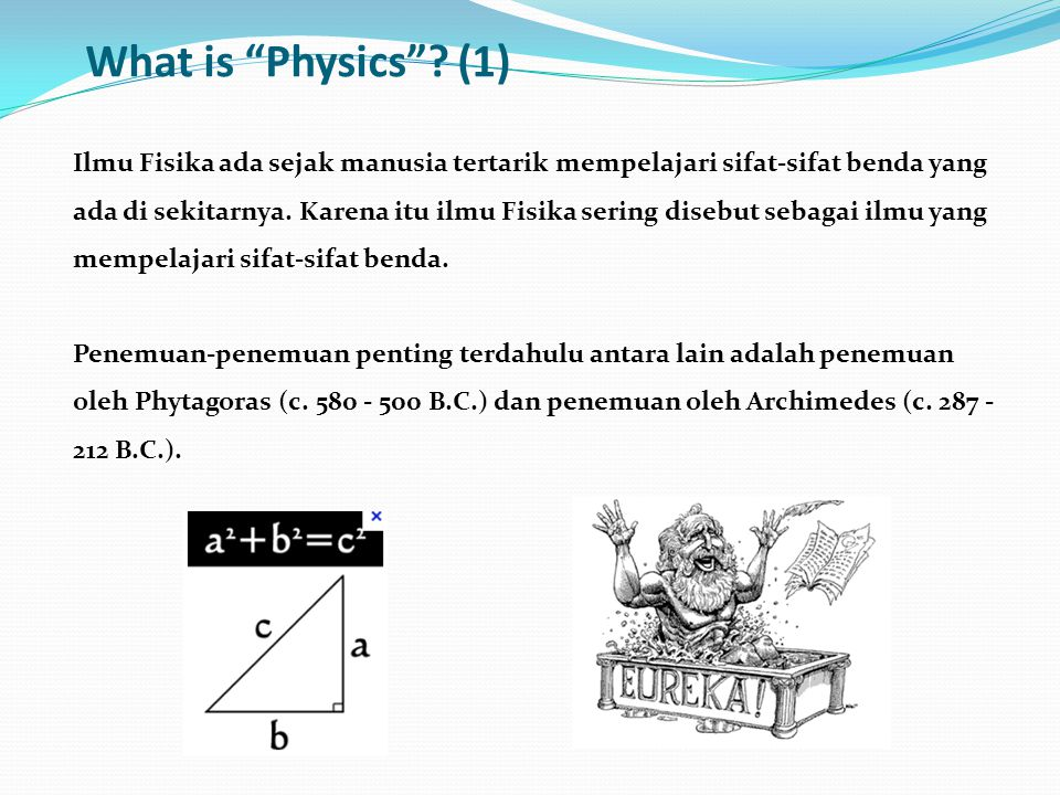 What is Physics (1)