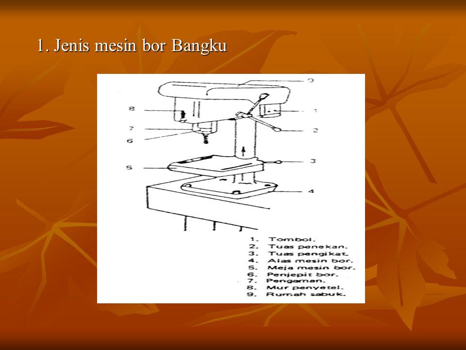 1. Jenis mesin bor Bangku