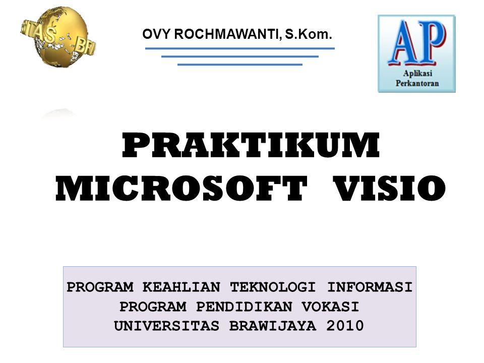 PRAKTIKUM MICROSOFT VISIO