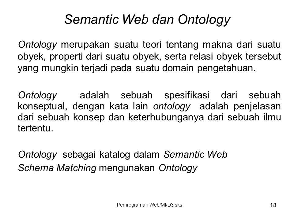 Semantic Web dan Ontology