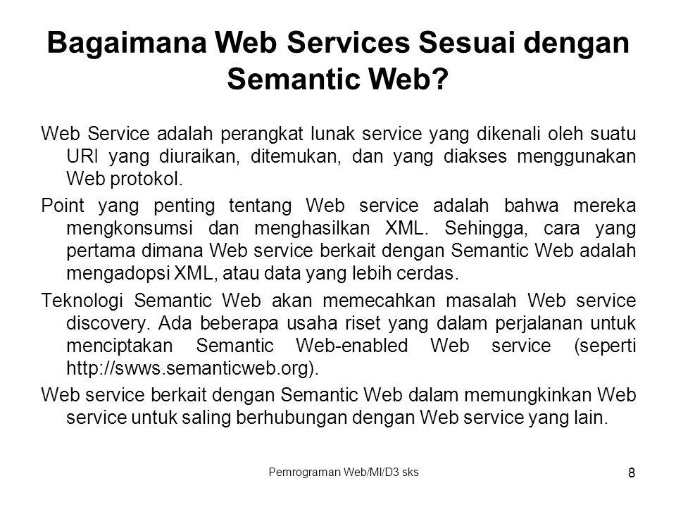 Bagaimana Web Services Sesuai dengan Semantic Web