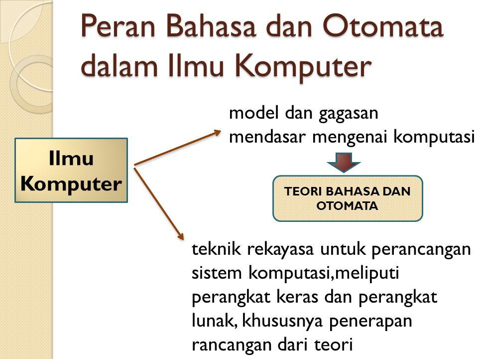Peran Bahasa dan Otomata dalam Ilmu Komputer