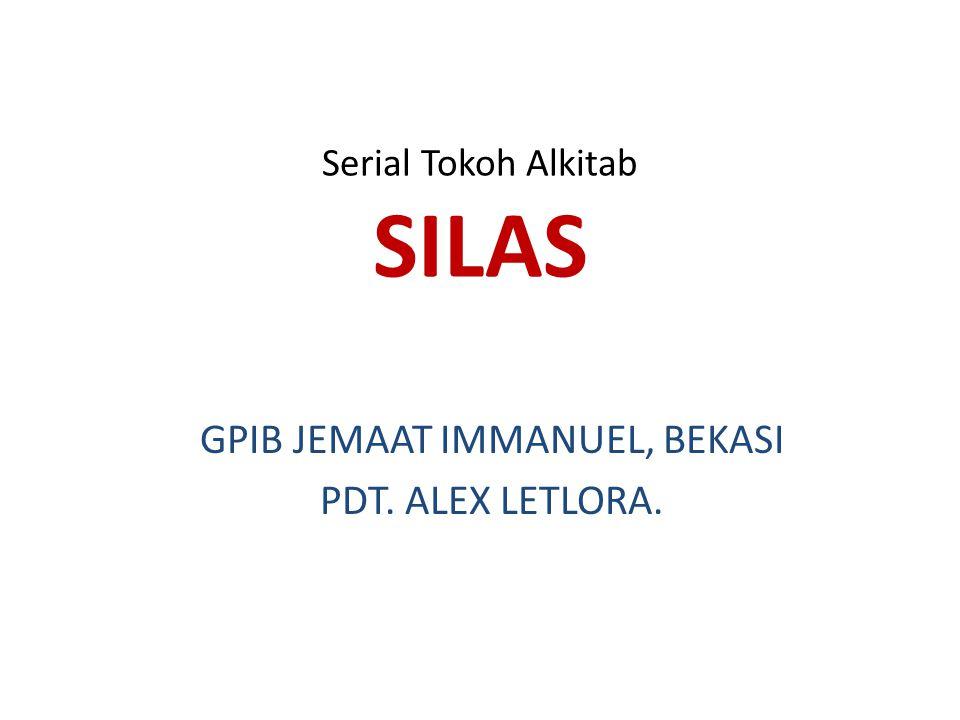 Serial Tokoh Alkitab SILAS
