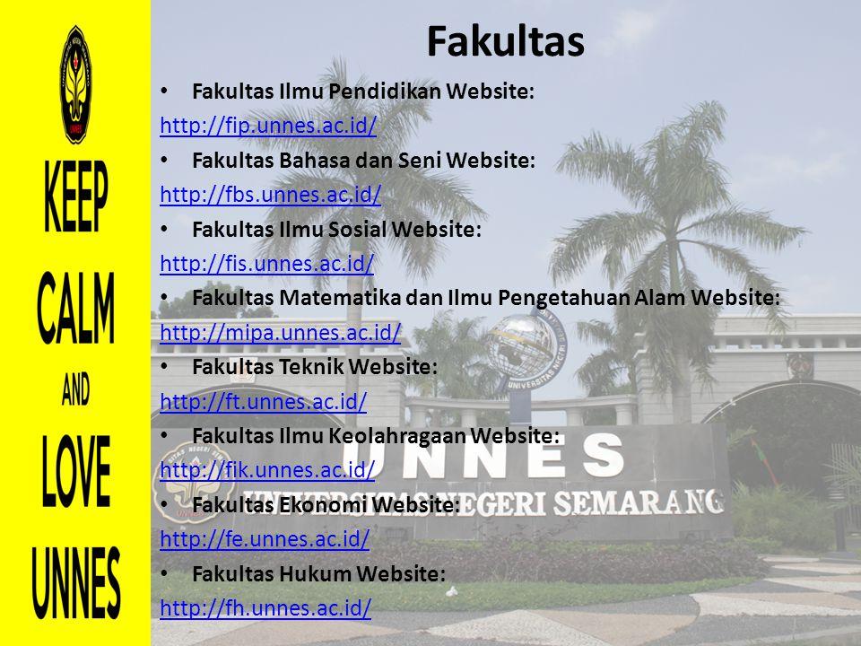 Fakultas Fakultas Ilmu Pendidikan Website: http://fip.unnes.ac.id/