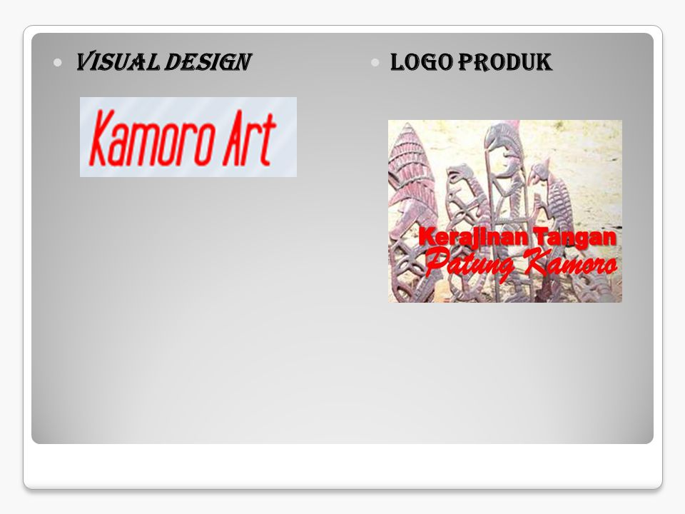 Visual Design Logo Produk