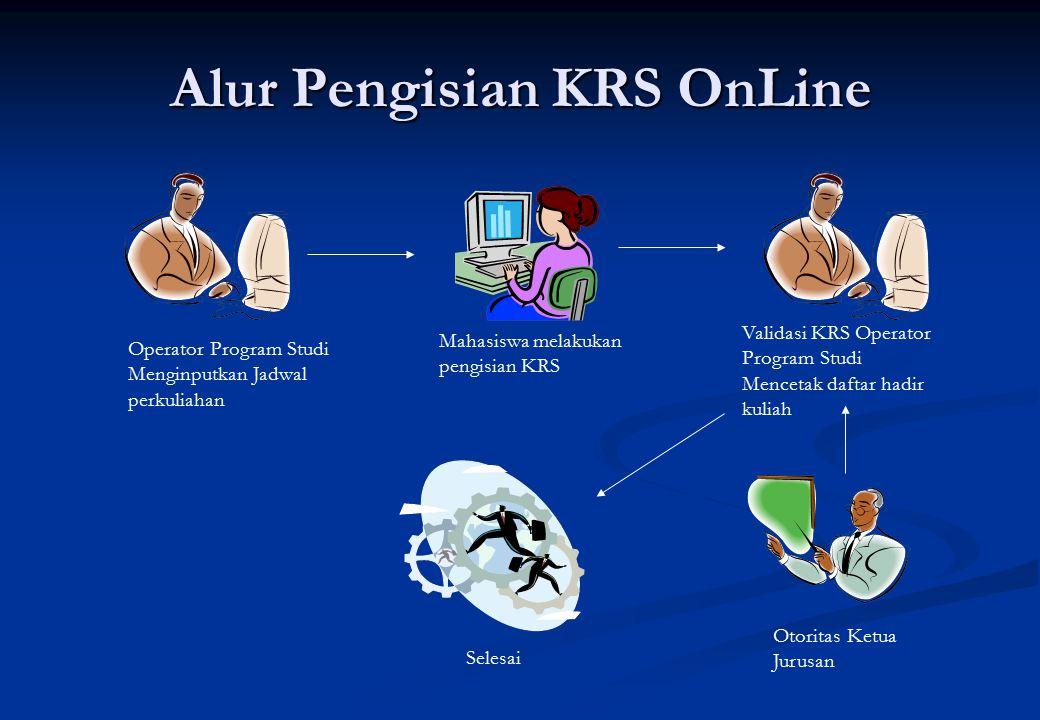 Alur Pengisian KRS OnLine