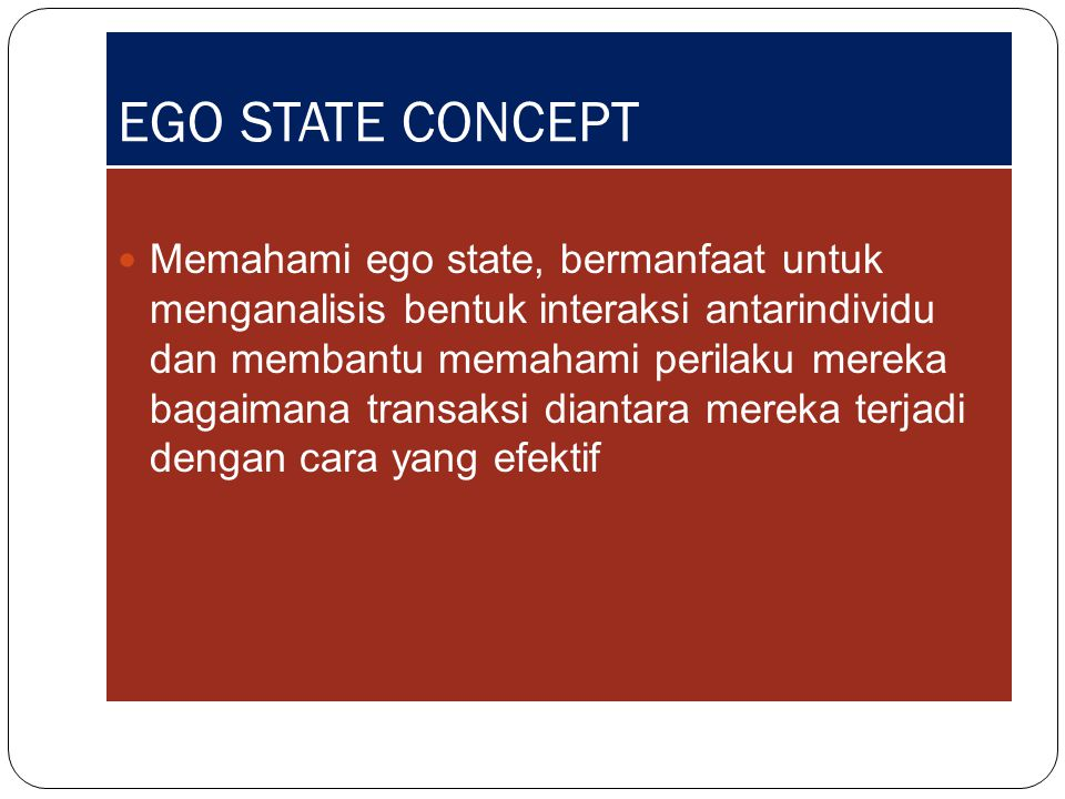 EGO STATE CONCEPT
