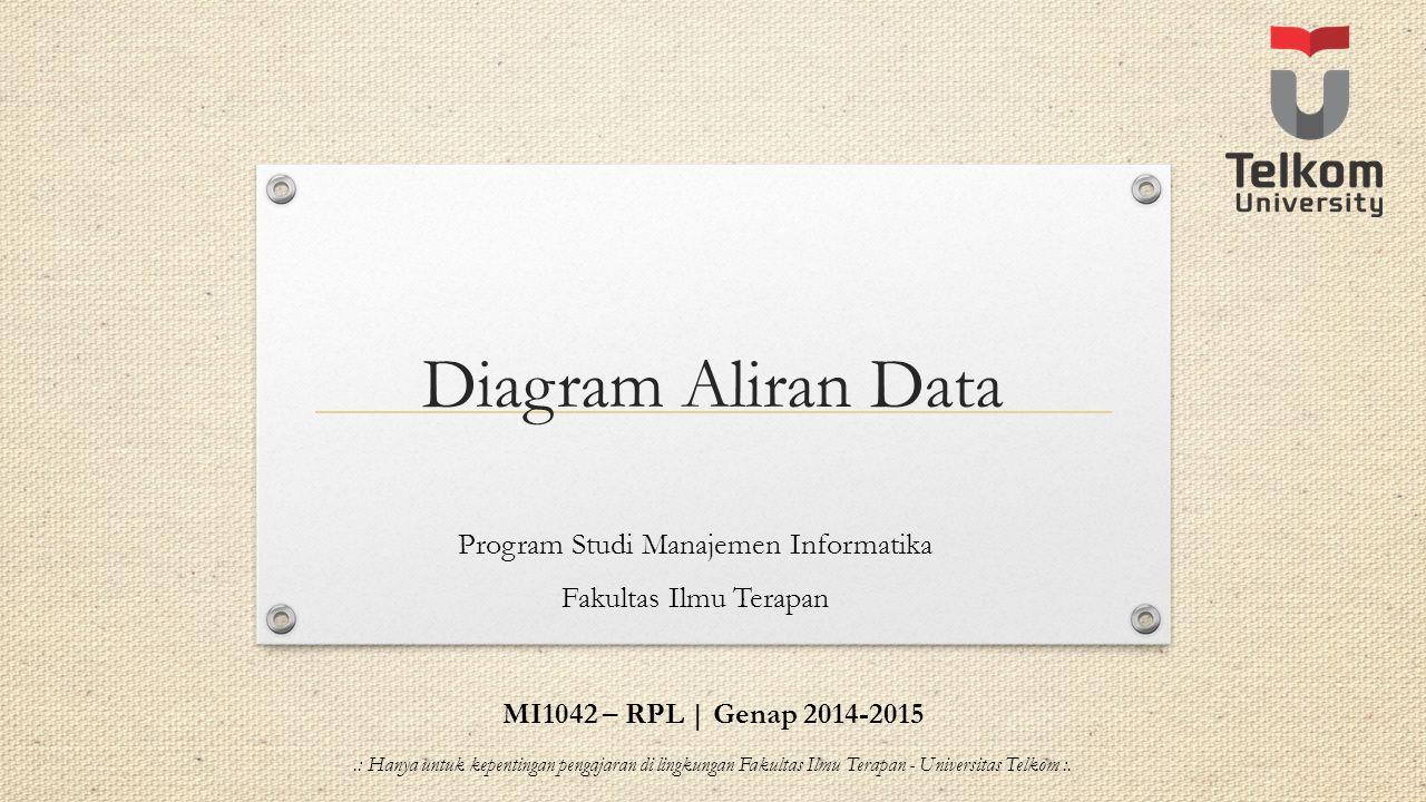 Program Studi Manajemen Informatika Fakultas Ilmu Terapan