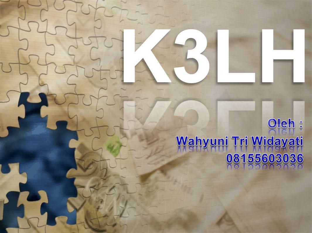 Oleh : Wahyuni Tri Widayati 08155603036