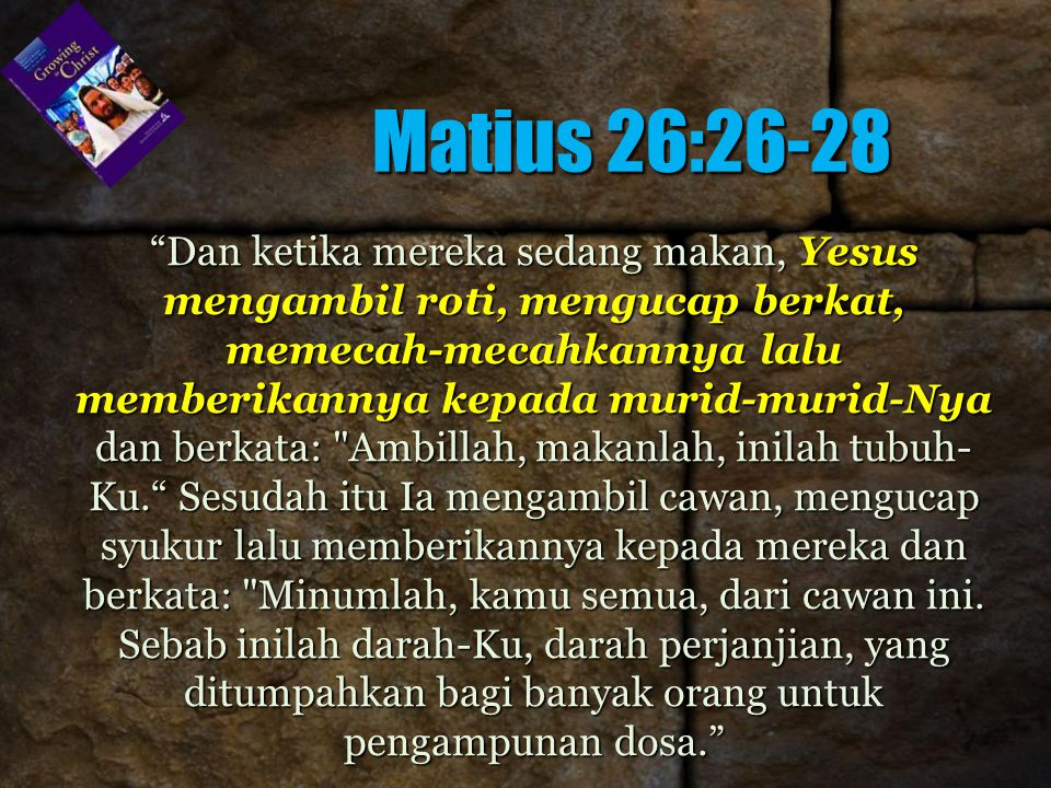 Matius 26:26-28