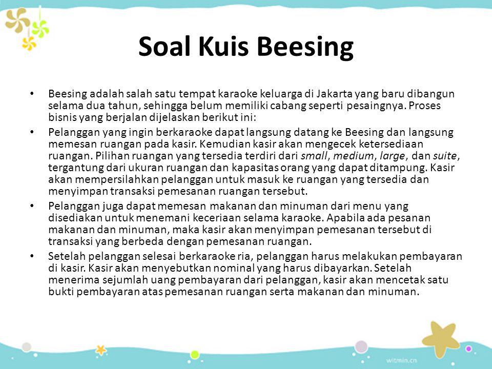 Soal Kuis Beesing