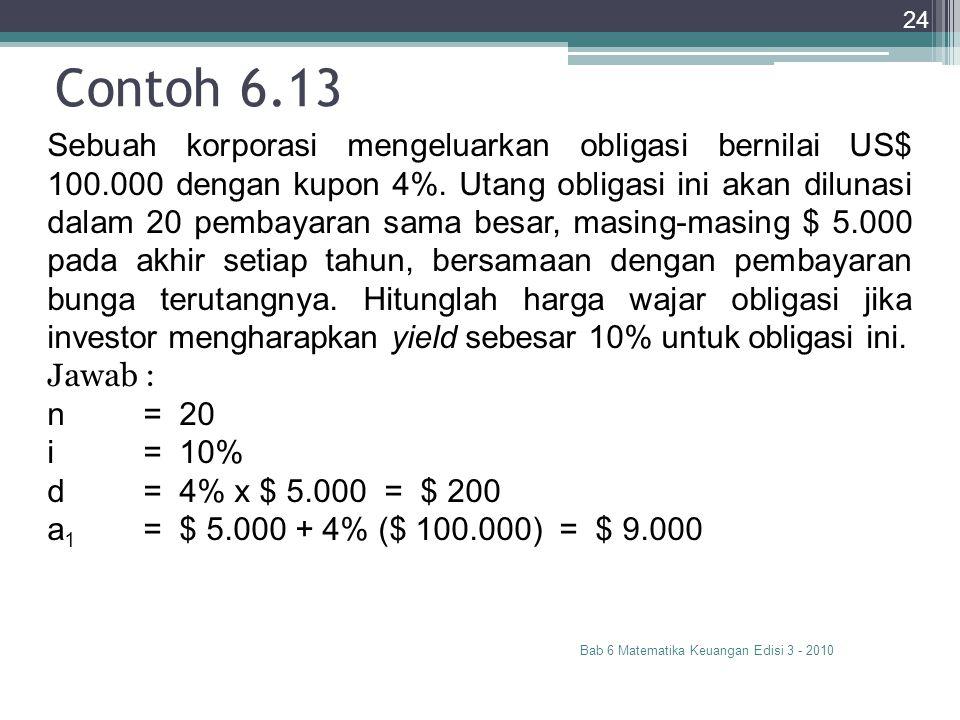 Contoh 6.13