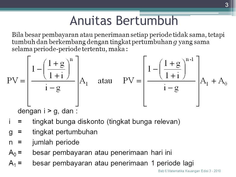 Anuitas Bertumbuh