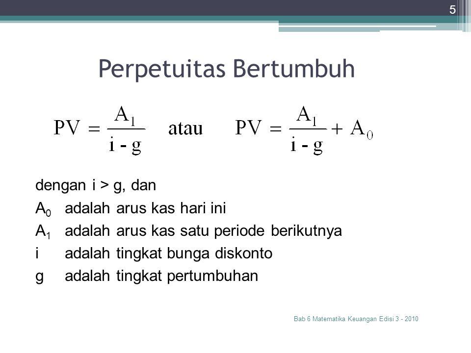 Perpetuitas Bertumbuh