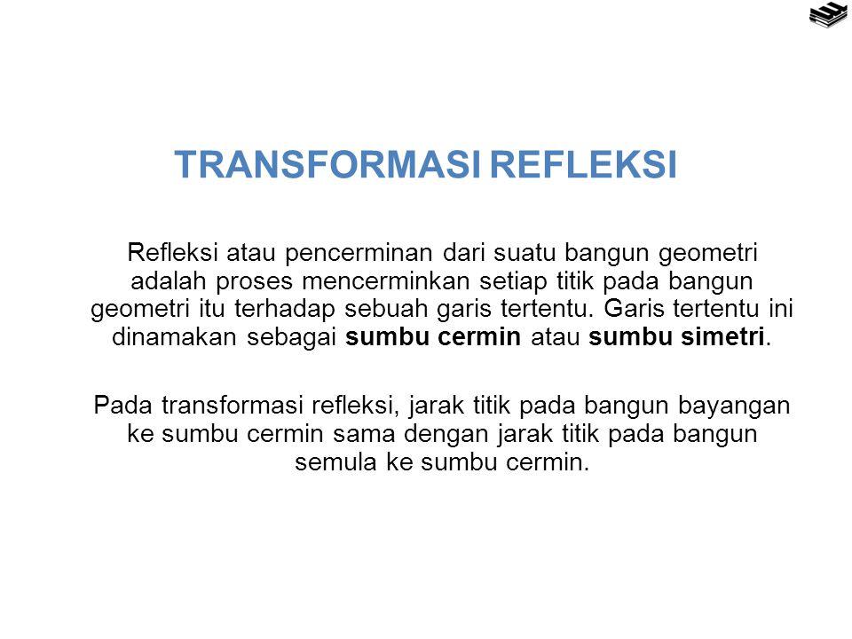 TRANSFORMASI REFLEKSI