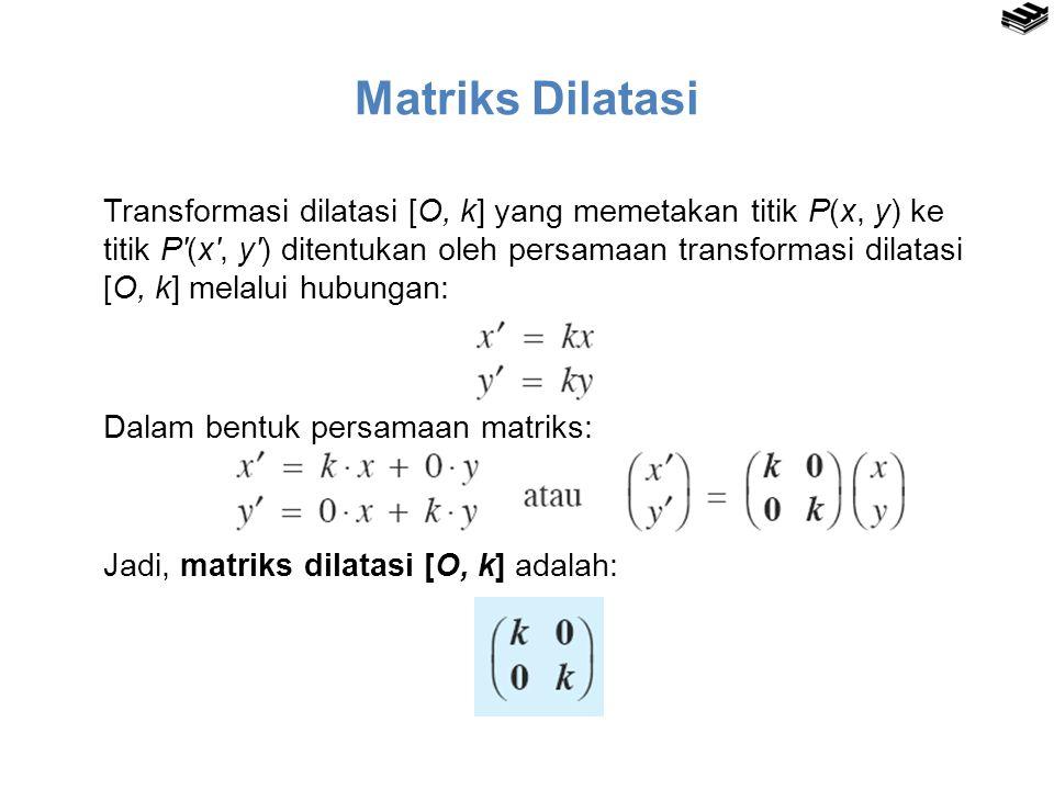 Matriks Dilatasi