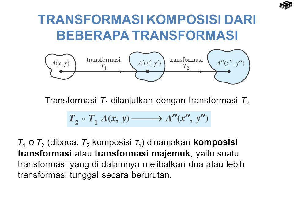 TRANSFORMASI KOMPOSISI DARI BEBERAPA TRANSFORMASI