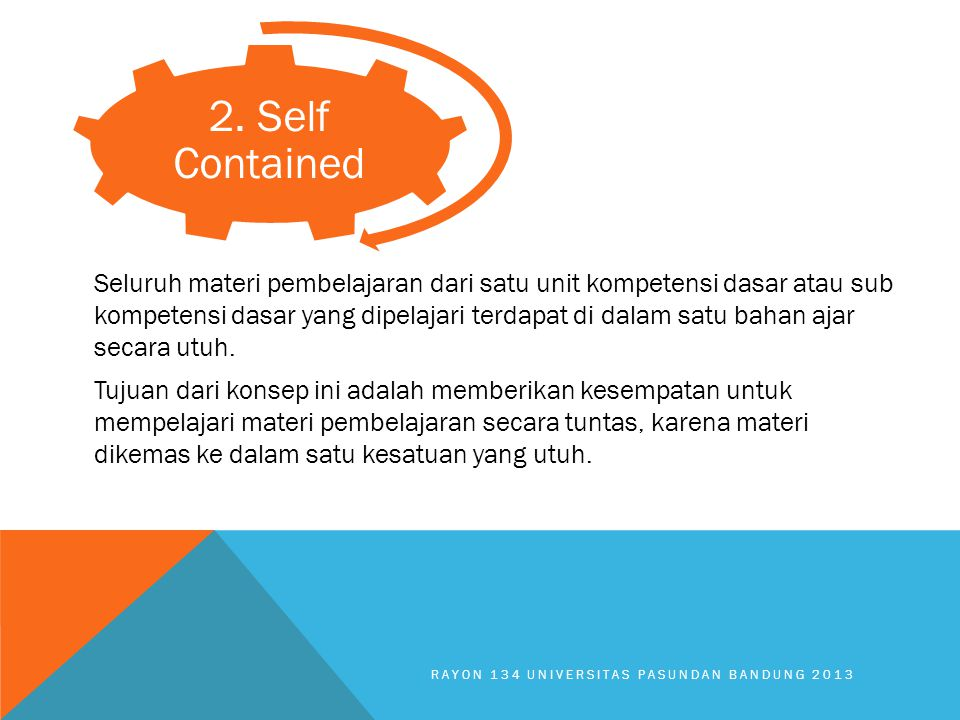 2. Self Contained