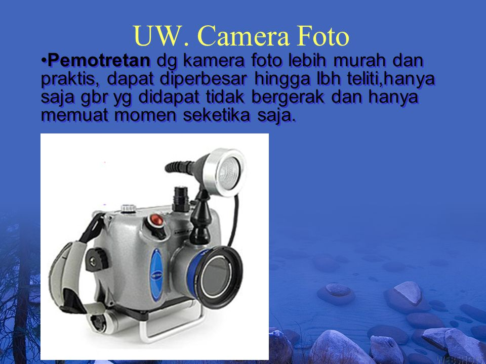 UW. Camera Foto