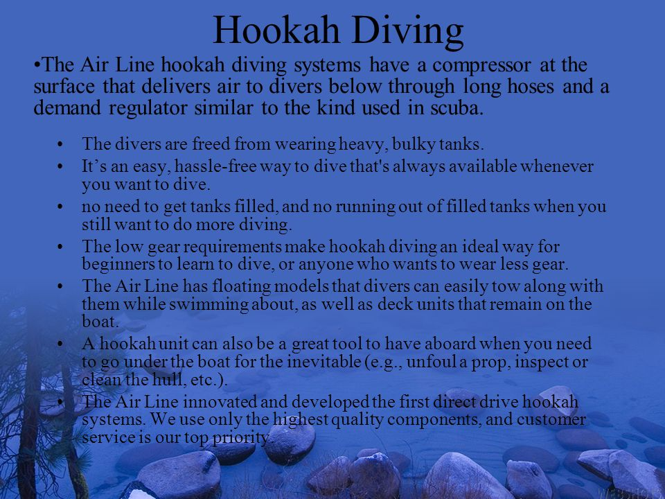 Hookah Diving