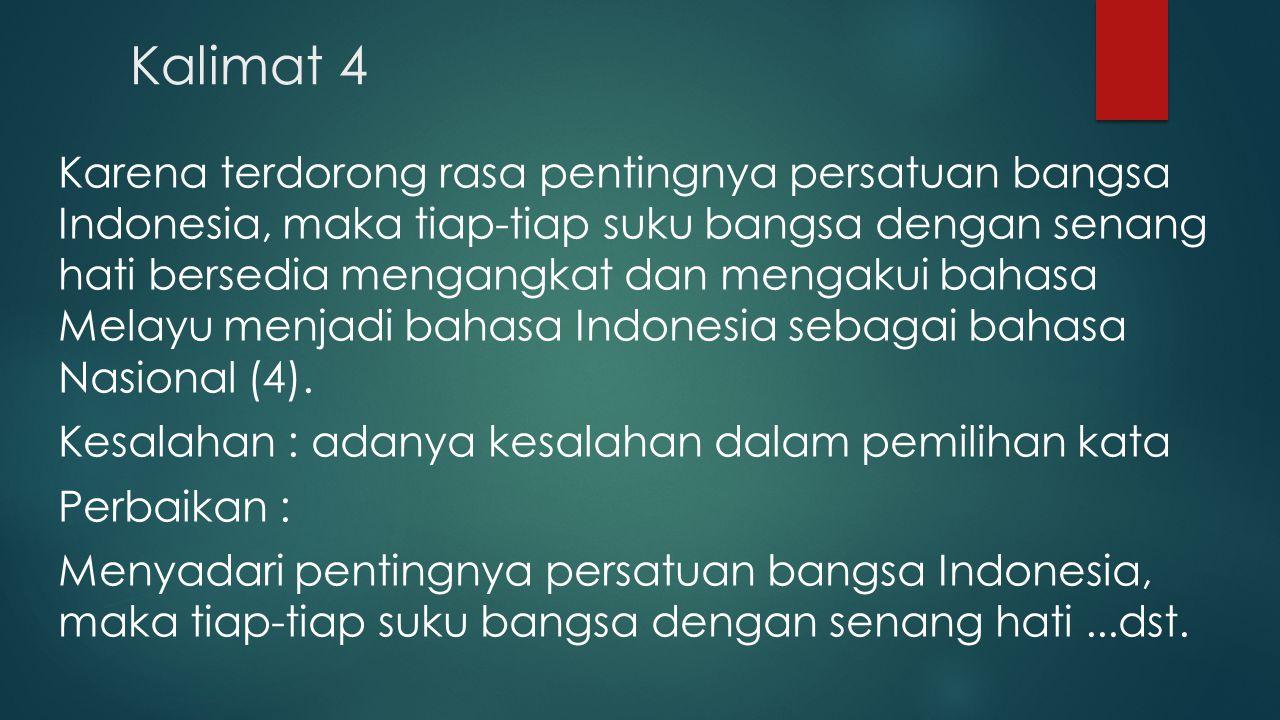 Kalimat 4