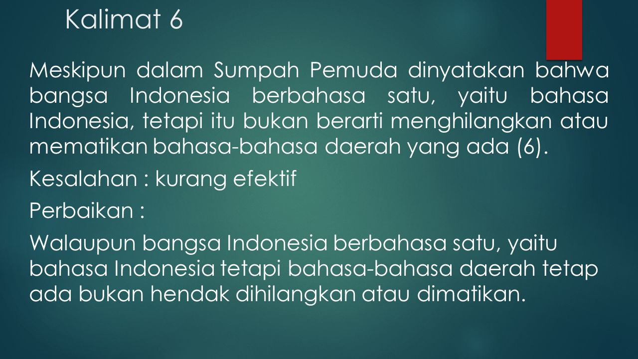 Kalimat 6
