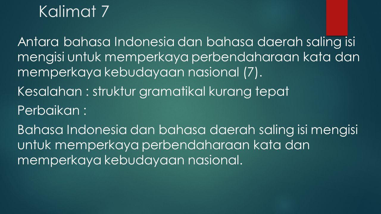 Kalimat 7