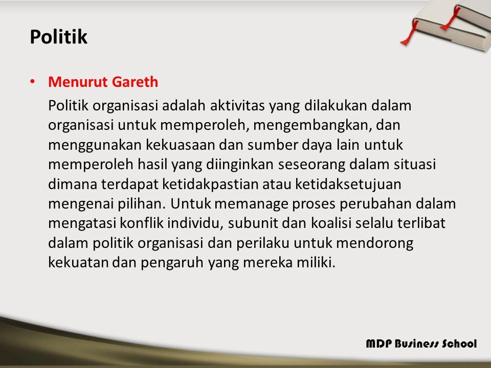 Politik Menurut Gareth