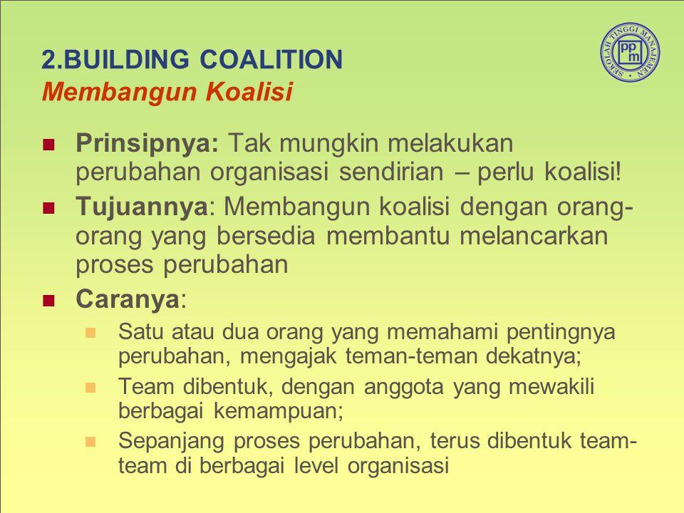 2.BUILDING COALITION Membangun Koalisi