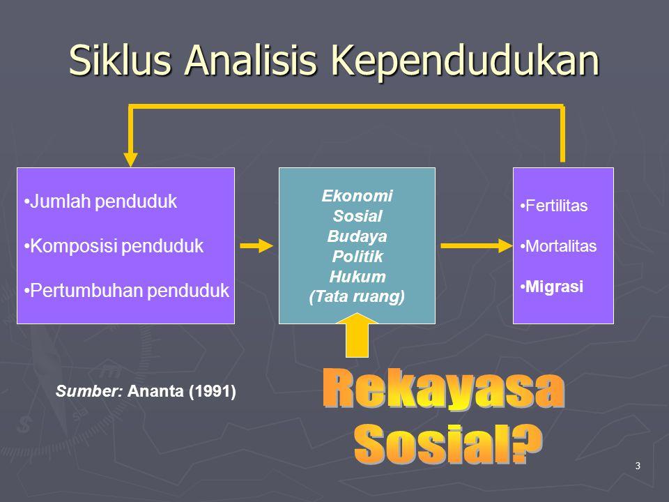 Siklus Analisis Kependudukan