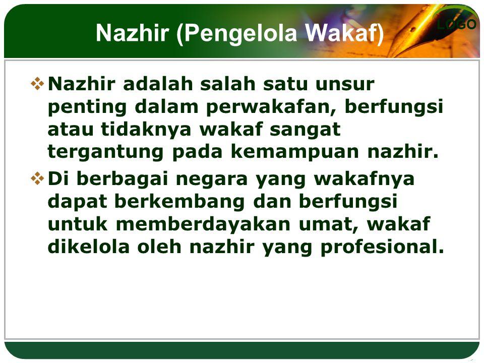Nazhir (Pengelola Wakaf)