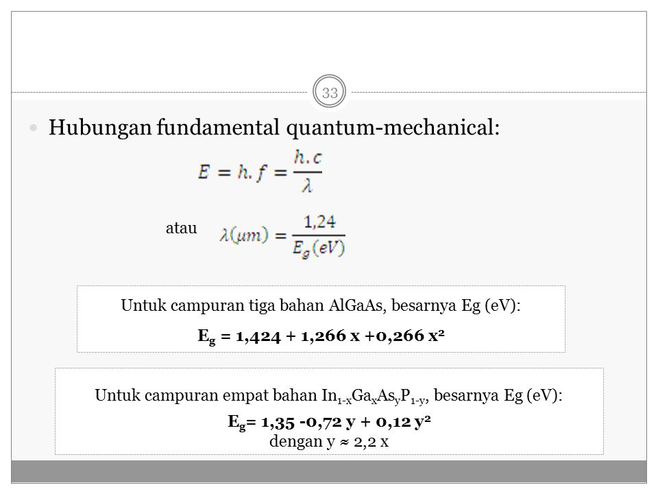 Hubungan fundamental quantum-mechanical: