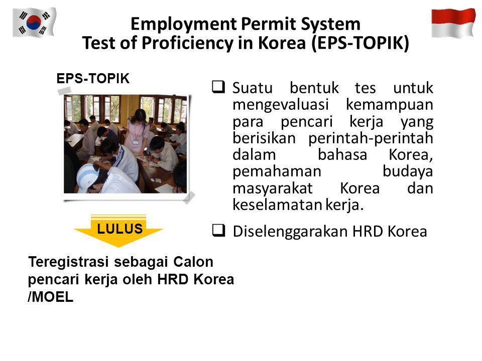 Employment Permit System Test of Proficiency in Korea (EPS-TOPIK)