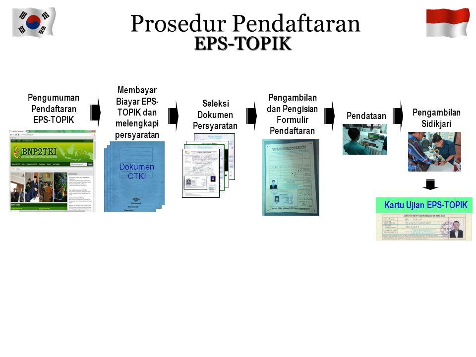 Prosedur Pendaftaran EPS-TOPIK